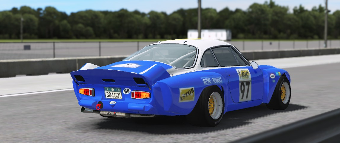 Alpine A110 2000cc